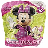 Minnie Mouse Bow-tique Bagged 46 Piece Floor Puzzle with Extra Large Pieces for Easy Handling by Bow-Tique
