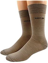 Robert Red Herren Business Socken Wolle
