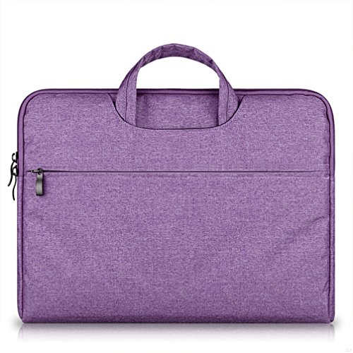 G7Explorer Water-resistant Laptop Sleeve Case Bag Portable Computer handbag For Macbook Pro Air and other Notebooks 11.6 inches Purple