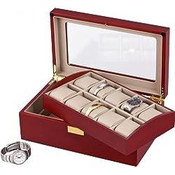 Auer Accessories Leda VS80110C Watch Box Removable tray