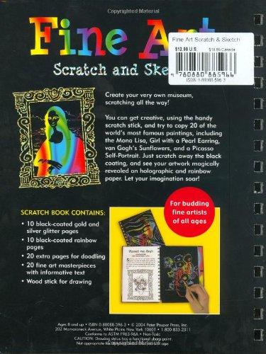 Scratch and Sketch Fine Art (Scratch & Sketch)