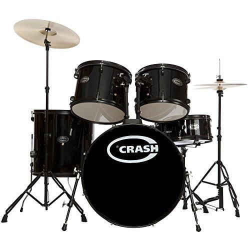 Force Five DrumSet, Black, Black HW