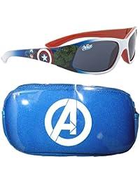 Marvel Avengers Boy Lunettes de soleil & Case