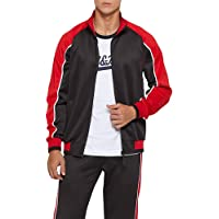 AOTORR Mens Tracksuit Sets Bottoms Full Zip Jogging Gym Suit Jacket and Trousers…