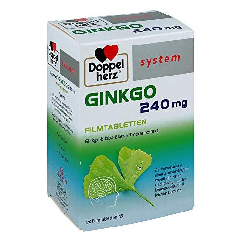 Doppelherz system Ginkgo 240 mg Tabletten, 120 St. Tabletten