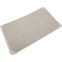 Household items Alfombrilla de baño de Silicona Antideslizante 70 × 40, Ventosa Antideslizante Alfombra Blanca