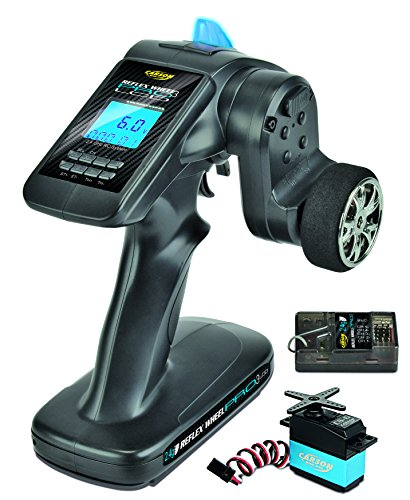 Carson 500500056 - FS 3K Reflex Wheel Pro 3 LCD 2.4G-Marine