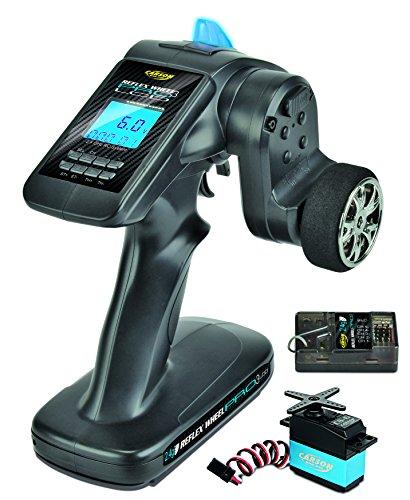 fernsteuerung 6 kanal Carson 500500056 - FS 3K Reflex Wheel Pro 3 LCD 2.4G-Marine