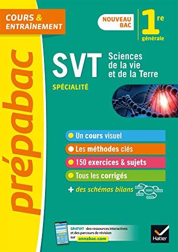 SVT 1re (spécialité) - Prépabac: nouveau programme de Première 2019-2020