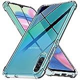 Ferilinso Cover per Samsung Galaxy A50S,A30S,A50 Cover, [Rinforzare la Versione con Quattro Angoli] [Protezione per la Fotocamera] Custodia Protettiva in Silicone Morbido Antiurto TPU (Trasparente)