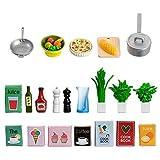 Lundby 60.5089.00 - Küchenzubehör, Minipuppen mit Zubehör