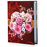 Sehaz Artworks Pink Roses Small Photo Album Baby Photo Album 4x6 Holds 104 Photos Polaroid Photo Albums