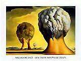 Salvador Dali - Les Trois Sphinx De Bikini Póster Impresión Artística (120 x 90cm)