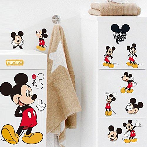 Disney Mickey Mouse Scrapbooking (Disney Mickey Maus Laptop-Aufkleber/Wandtattoo)