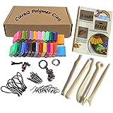 DIY Colorful alta calidad arcilla, ciaraq Creative calle modelo de arcilla, suave moldura Craft horno hornear arcilla y kits, Tutoriales, accesorios, mejores regalos para los niños