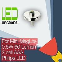 Mini MagLite Ampoule LED comptble Conversion/PaTA pour Mini MagLite-Lampe torche/lampe torche 2AAA Philips