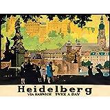 Wee Blue Coo LTD Advert Heidelberg Rail City Painting Art