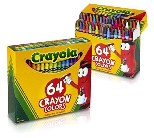 2 PACK Crayola 64 Ct Crayons (52-0064) by Crayola