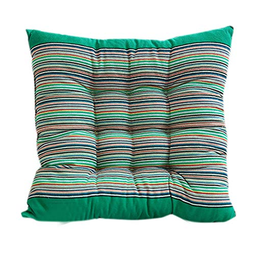1-Stück Sitzkissen hochwertige Qualitäts-Polsterauflage für Gartenmöbel, 40 x 40 x 10 cm Yonlanclot