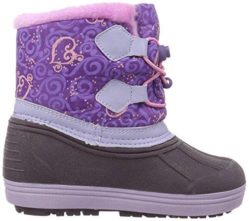 Sofia die Erste Girls Kids Snowboot Booties, Bottes mi-hauteur avec doublure chaude fille Violet - Violett (Lli/PUR/Dfux 154)