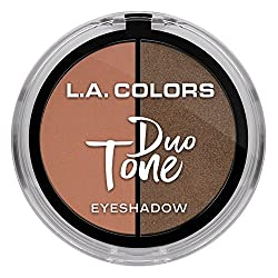 L.A. Colors Duo Tone Eyeshadow, Bombshell, 4.5g