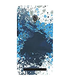 Ink Splash 3D Hard Polycarbonate Designer Back Case Cover for Asus Zenfone 6 A600CG