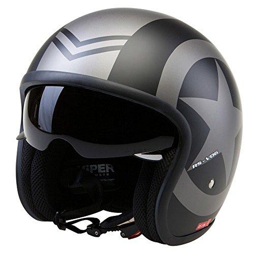 Casco de la Motocicleta Jet Ca-1