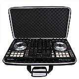 Professionelle Schutz-Beutel-Harter DJ Audio Equipment Carry Case für Pioneer DDJ RX/Pioneer DDJ SX DJ Controller - L Größe Reisen schützende Tragetasche Schwarz
