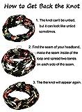 CHRONEX Ponytail Hair Bands Holders Elastic Rubber Bands...