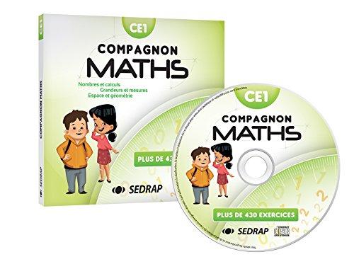 Maths CE1 Compagnon maths (1Cédérom) par (Broché - Oct 27, 2017)