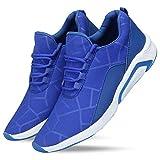 Boltt Men's Air Series Mesh Smart Casual,Walking,Gymwear, Running Shoes (7, Gray)