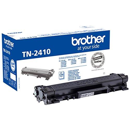 Brother TN-2410 Tonerkartusche (für Brother HL-L2310D, HL-L2350DW, HL-L2370DN, HL-L2375DW, DCP-L2510D, DCP-L2530DW, DCP-L2550DN, MFC-L2710DN, MFC-L2710DW, MFC-L2730DW, MFC-L2750DW) schwarz