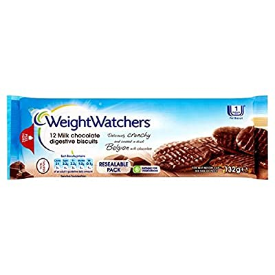 Weight Watchers Milk Chocolate Biscuits 132g