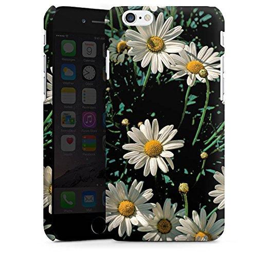 Apple iPhone X Silikon Hülle Case Schutzhülle Gänseblümchen Blume Pflanzen Premium Case matt