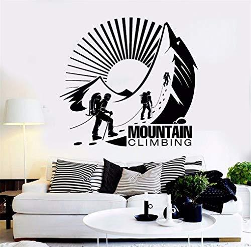 wandaufkleber 3d Wandtattoo Kinderzimmer Art Mountain Climbing Decoration Hobby Extreme Decor Art Sports Modern Sticker Mural for living room