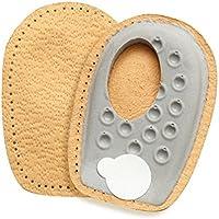 FabaCare Premium Schuheinlagen Heel Side Spar, Leder Fersenpolster für seitlichen Fersensporn, Fersenkissen, Fersenkeil... preisvergleich bei billige-tabletten.eu