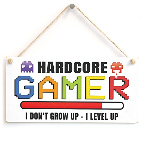 Hardcore Gamer I Don 't Grow Up – I LEVEL UP – bunt Gaming Geschenk