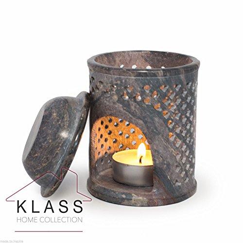 Jali-Soapstone-Moroccan-Oil-Diffuser-Warmer-TeaLight-Holder-Burner-Aromatherapy