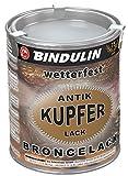 750 ml Kupferlack wetterfest kupfer-antik wetterfest & farbtonstabil inkl. 4er Set Pinsel zum Auftragen und Nitrilhandschuhe (0.750)