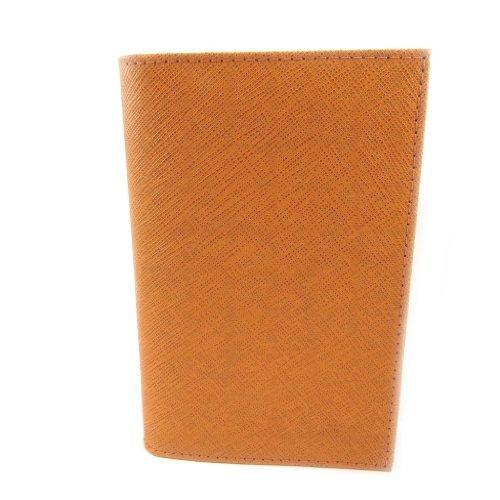 Frandi [L3450] - Porte Papiers de voiture Cuir 'Frandi' orange (ultra plat)
