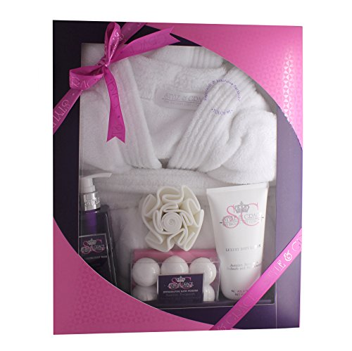 ladies-luxury-bathrobe-robe-pamper-gift-set-for-her-dressing-gown-xmas-gift-new