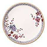 Villeroy & Boch Artesano Provençal Lavendel Floraler Speiseteller, 27 cm, Premium Porzellan, Weiß/Bunt