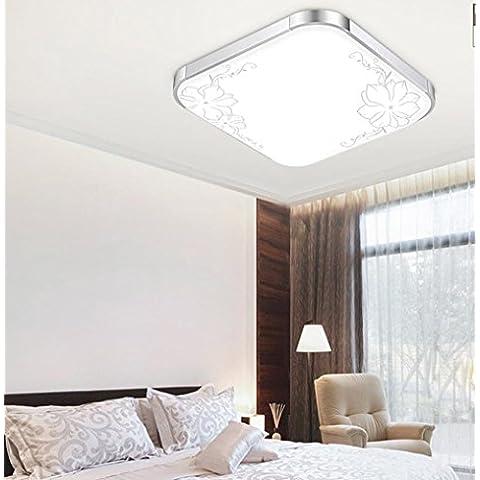APSD-Illuminazione calda LED, lampada da soffitto, soggiorno,