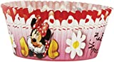 Amscan Disney Minnie Mouse 50-Piece Cake Case, Red