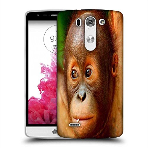 Snoogg Baby Chimpanese Designer Protective Phone Back Case Cover For LG G3 Beat / Mini
