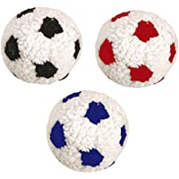 Bereber 28 cm grande suave peluche perro cachorro comodidad fútbol juguete  X ... 3ee952100e4