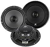 ESX Lautsprecher SL62 360 Watt 16,5cm Koax incl Einbauset für Hyundai Getz ab 2002