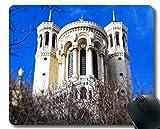 Spiel-Mausunterlage Gewohnheit, Glaube Glauben Notre Dame Mauspad Genähte Grenze