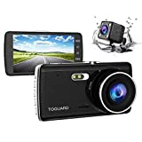Best Dash Cam Duals - 【Upgraded 720P Rear Cam】TOGUARD Full HD 1080P Dual Review