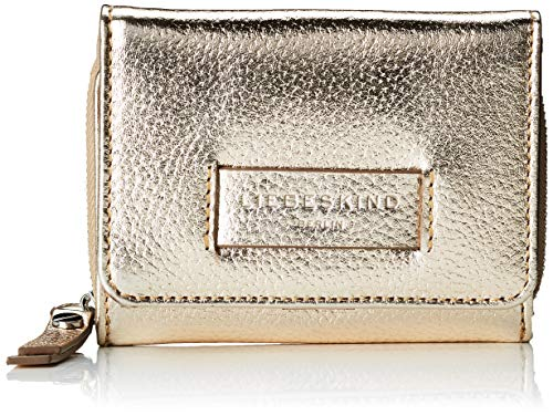 Liebeskind Berlin Damen Essential Pablita Wallet Small Geldbörse, Gold (Moonlight), 3.0x9.0x12.0 cm